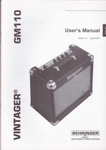 Vintager GM100 User's Manual- English, French & German - $15.97