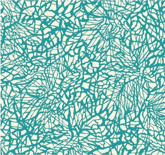 4.26 yds Chris Barrett Outdoor Upholstery Fabric Monterey Teal Print 100-03 EH