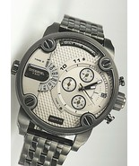 Diesel DZ7410 Little Daddy seven-link bracelet watch 52 mm All Black Ori... - £130.09 GBP