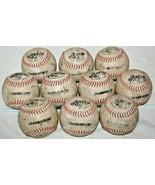 "Used Wilson DeMarini Razzo 11"" ASA Fast Pitch Practice Softball Balls Lo... - $23.61"