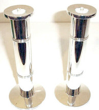 "Kate Spade Pompano Point Candlesticks Holders Pair 8"" NEW - $78.90"