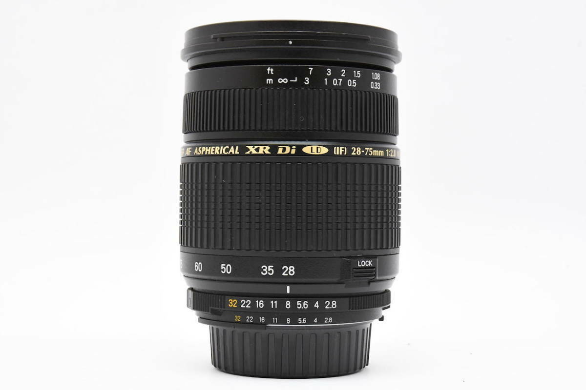 Tamron 28-75mm F2.8 XR Di For Canon Digital SLR With Lens Hood