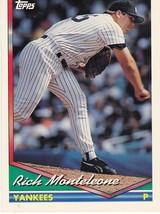 1994 Topps Rich Monteleone - $2.25