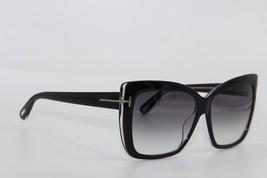 NEW TOM FORD TF 390 01B IRINA BLACK GRADIENT SUNGLASSES AUTHENTIC 59-13 ... - $167.37