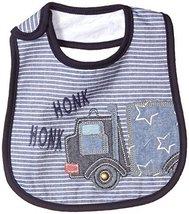 Mud Pie Baby Boys' Applique Bib, Honk Truck, One Size - $14.69