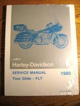 1980 Harley-Davidson Tour Glide Flt Service Manual, New Sealed - $37.85