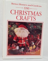 Christmas Crafts Cross Stitch Book 1990 Better Homes Gardens Patterns Quilting - $10.56