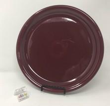 "Fiesta Claret (Wine / Burgundy Color) BISTRO Dinner Plate 10 1/2"" Diameter - $11.99"
