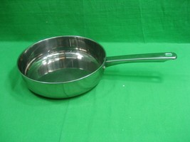 Vintage Stainless Steel Skillet Fry Pan 9.5 Inches ~ JC Penny Home  - $15.85