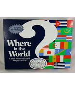 Where in the World 1993 Board Game Geography Social Studies Aristoplay @@@ - $6.60