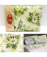 Vintage Cannon Royal Family Percale Floral Daisy Full Fitted Sheet NEW N... - $29.92