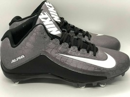 Nike Alpha Strike 2 Mid D Black / Dark Grey 725228-010 (Men's Size 12) - $42.75