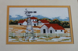 Harvest Windmill Cross Stitch Pattern Chart 1989 Maureen Doherty Designs... - $7.43