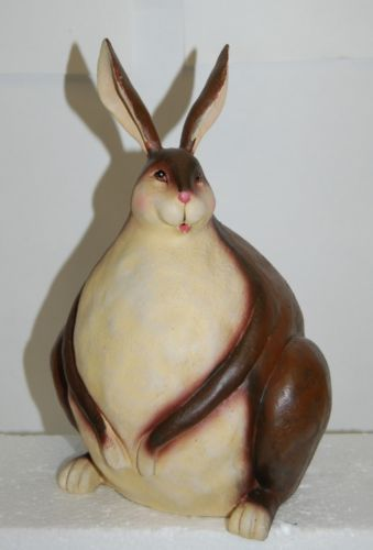 Sitting Bunny Brown Color Product Number FR5102 Unknown Brand