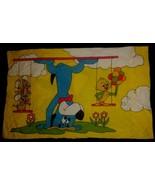Vtg 1970s Huckleberry Hound Pixie Dixie Pillowcase Trapeze Huck Circus - $29.99