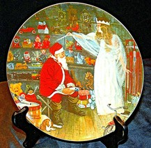 """1979 """"The Snow Queen"""" by Norman Rockwell Plate with Box ( Knowles ) AA20- CP2209"""