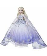 Disney Princess Style Series Holiday Elsa Doll, Fashion Doll Accessories - $75.99
