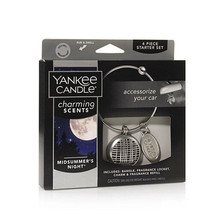 ☆☆CHARMING SCENTS MIDSUMMER'S NIGHT STARTER KIT☆YANKEE CANDLE☆CAR AIR FR... - $12.86