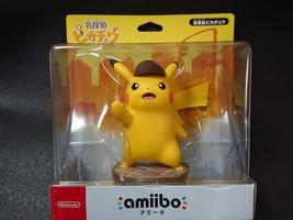 amiibo Detective Pikachu Pokemon Series NINTENDO 3DS Wii U Japan Import - $55.17