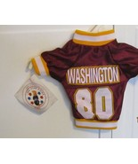 NWT WASHINGTON Football Themed Dog Pet Shirt  Size TINY - $9.95