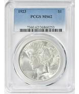 1923 Peace Silver Dollar PCGS MS-62 - $60.00