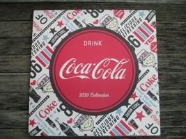 Coca-Cola 2020 12 month 12 x 12 Wall Calendar Vintage Nostalgia - $12.87
