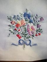 "Bucilla Stamped Embroidery Tablerunner ""WILDFLOWERS"" 14"" x 44"" kit 40893 - $9.99"