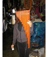 Toyo Instrument, Panflute, Instrument made in Bamboo Tubes - $120.00
