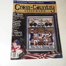 August 1992 Cross Country Stitching Magazine Jeremiah Junction - $9.74