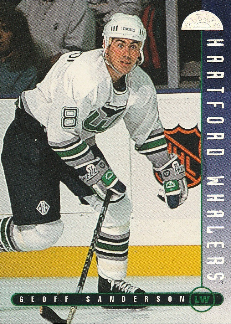 Primary image for 1995-96 Leaf #88 Geoff Sanderson