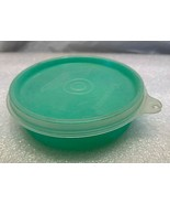 Vintage...Tupperware Little Wonders Green Snack Bowl Dish #1286 w/ lid - $6.92
