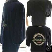 Vintage 2005 Seattle Seahawks T-Shirt Medium Graphic NFC West Cotton SKU 068-041 - $20.29