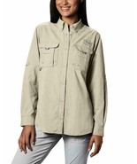 Columbia Women's PFG Bahama II Long Sleeve Breathable Fishing Shirt Foss... - $31.78