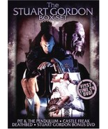 Stuart Gordon Box Set (2007 DVD, Pit & The Pendulum, Castle Freak, Death... - $14.97