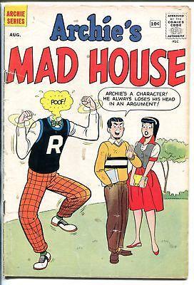 ARCHIE'S MADHOUSE #7 1960-PARODY-ROCK STARS-WACKY-BETTY-VERONICA-JUGHEAD-vg
