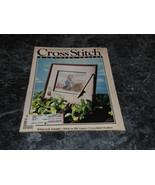 Cross Stitch & County Crafts Magazine May June 1990 Snow Star - $2.99