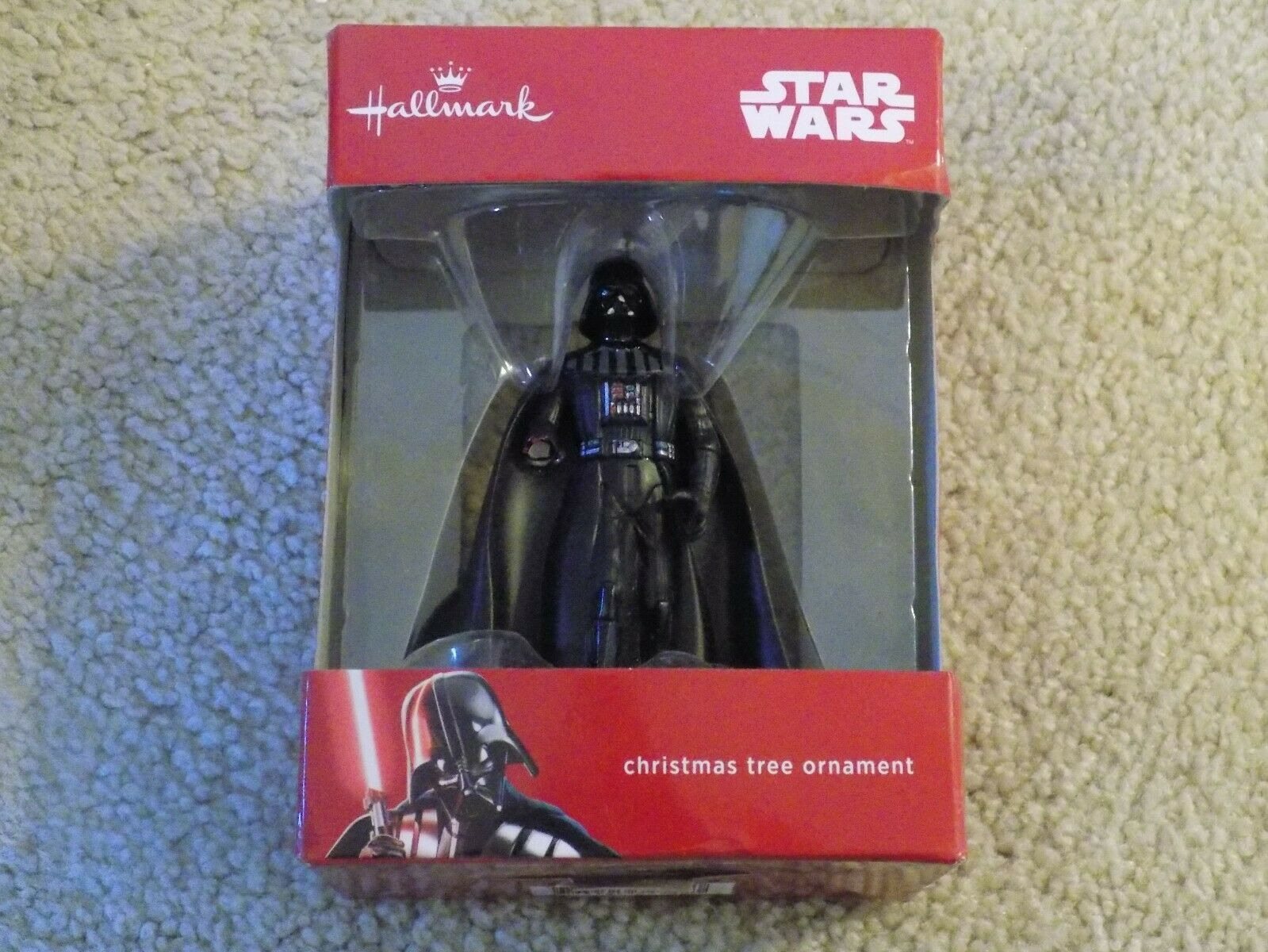 "Primary image for Hallmark Star Wars Darth Vader Disney Christmas Tree Ornament 3"" FREE SHIPPING!"
