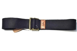 Ralph Lauren Mens Nylon Black Belt Size Medium RRP £65 - $58.14