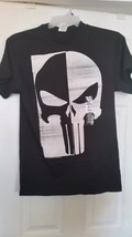 MARVEL COMICS THE PUNISHER MENS SMALL BLACK T-SHIRT NEW - $15.50