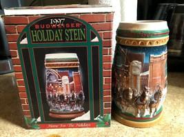 1997 Budweiser Holiday Stein - $20.00