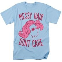My Little Pony T-shirt retro 70s 80s toys cartoon graphic printed caro blue tee image 2