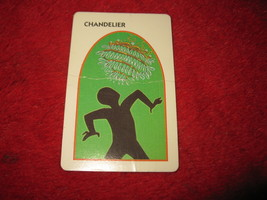 1993 - 13 Dead End Drive Board Game Piece: Chandelier Trap Card - $1.00