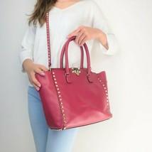 Valentino Leather Medium Tote Rockstud Bag - $799.00