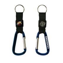 Non Metal Nfl Los Angeles Chargers Navi-Biner Key Ring By Rico Industries (Lengt - $15.12