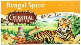 Celestial Seasonings Bengal Spice Tea, 20 Count, 1.7 Oz - $32.89