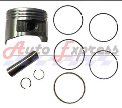Honda GX270 8.0 HP .50 mm Over Standard Sized Bore Piston with Rings Pin... - $89.95