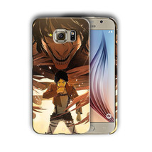 Attack on Titan Eren Yeager Galaxy S4 5 6 7 Edge Note 3 4 5 Plus Case Co... - $13.06+