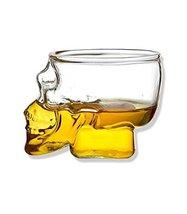East Majik Creative Crystal Skull Design Beer/Vodka/Wine Cup Set of 3 - $43.83