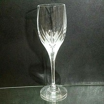 1 (One) MIKASA FLAME D'AMORE Cut Lead Crystal Wine Glass - $18.99