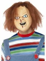 Chucky Mask, Chucky Licensed Fancy Dress/Cosplay #CA - $26.43